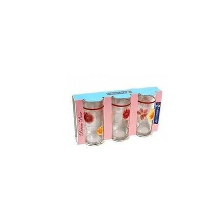 Набор стаканов высоких 270мл 6шт Luminarc Poeme Rose D2159