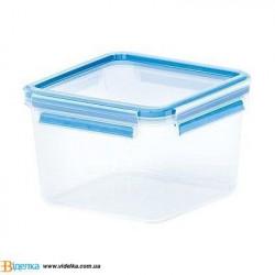 Контейнер для еды  EMSA CLIP&CLOSE 3D квадратный, 1,75л EM 508537