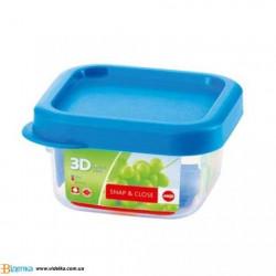 Контейнер для пищи Emsa SNAP&CLOSE квадратный, 0,22 л EM 508572