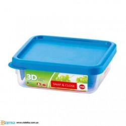 Контейнер пищевой Emsa SNAP&CLOSE квадратный, 0,75л EM 508573
