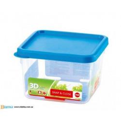 Контейнер пищевой Emsa SNAP&CLOSE квадратный, 1,6л EM 508574