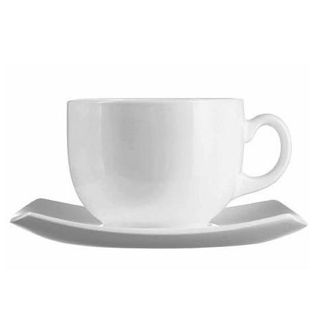 Сервиз чайный 12пр Luminarc Quadrato White E8865