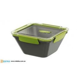 Контейнер EMSA BENTO BOX серо-зеленый, 1,5л EM 513953