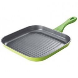 Сковорода-гриль  BLISS 26х26х4 см зеленая GIPFEL 0446
