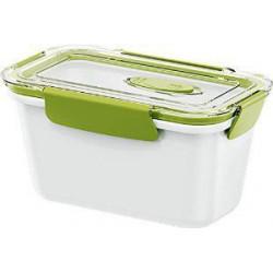 Контейнер EMSA BENTO BOX бело-зеленый, 0,9л EM 513959