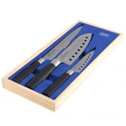 Набор ножей JAPANESE 3 пр. в дер. коробке Gipfel 6629