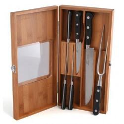 Набор ножей и вилка для мяса VALENCIA 6 пр. Gipfel 6630