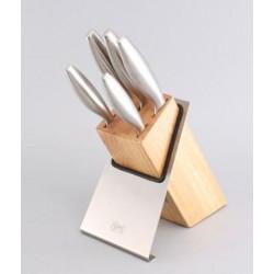 Набор ножей JAZZ 6 пр. на подставке Gipfel 6646