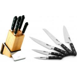 Набор ножей ALPHA 6 пр на подставке Gipfel 6647