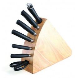 Набор ножей KAPELLA 8 пр.на деревянной подставке Gipfel 6653