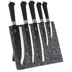 Набор ножей TURTUR 6пр на магнитной подставке Gipfel 6682