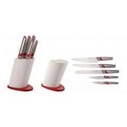 Набор ножей 6 пр. на подставке Gipfel 6697