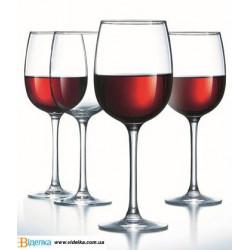 Набор бокалов для вина Luminarc Allegresse 420мл-4шт  J8166