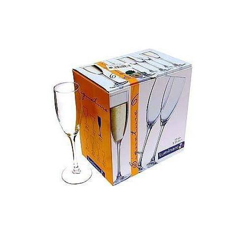 Набор бокалов для шампанского Luminarc Signature 170мл-6шт H8161