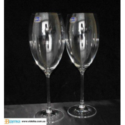 Бокалы для вина Bohemia Grandioso 600 мл-2шт