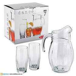 Набор для напитков 7пр Dance Pasabahce 97874