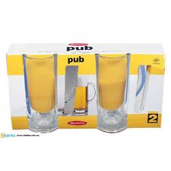 Кружка для пива 300мл/2шт Pub Pasabahce 55439