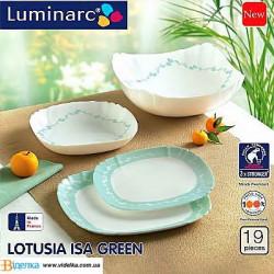 Сервиз Luminarc 19пр Isa Green J5908