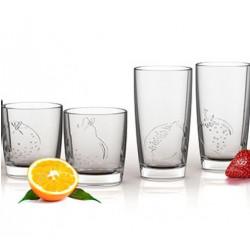 Стакан низкий 250мл Luminarc Fruity Orange L1178