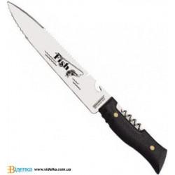 Спортивный нож рыбацкий Tramontina FISH, 208 мм, в чехле 26054/108