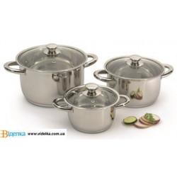 Набор посуды BergHOFF Vision Рremium 6 пр 1106000