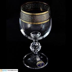 Бокалы для вина Bohemia Claudia (43249) 190 мл-6шт