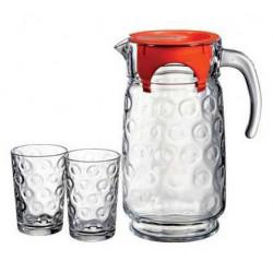 Набор для воды 7 предметов Rings Pasabahce 98884