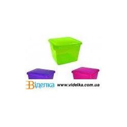 Емкость для хранения продуктов квадратная 0,75л Браво Giaretti GR-1031 mix