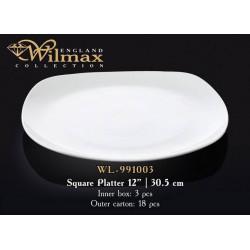 Wilmax Блюдо квадратное 30,5см WL-991003