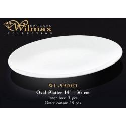 Wilmax Блюдо овальное 36см WL-992023