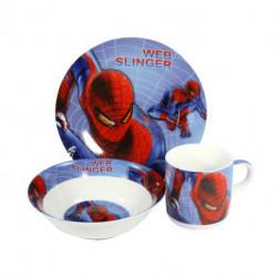 Детский набор 3пр Человек-паук Interos 398