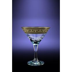 """Бокалы для мартини 170мл декор с рисунком """"Греческий узор"""" GE 01-410"""