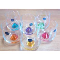 Стаканы для виски Bohemia Islands  310мл-6 шт цветные