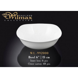 Салатник квадратный 15см Wilmax WL-992000