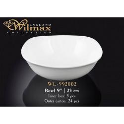 Салатник квадратный 23см Wilmax WL-992002