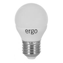 Светодиодная лампа (LED) ERGO Standard G45 E27 4W 220V 3000K (LSTG45E274AWFN)