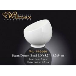 Wilmax Сахарница/Креманка 8,5x9см WL-995000