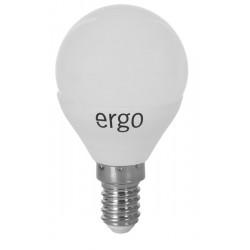 Светодиодная лампа (LED) ERGO Standard G45 E14 4W 220V 3000K (LSLSTG45E144AWFN)