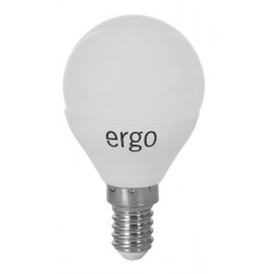 Светодиодная лампа (LED) ERGO Standard G45 E14 4W 220V 4100K (LSTG45E144ANFN)