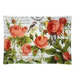 Блюдо прямоугольное 30х20см Viva Garden Rose S3230-L077