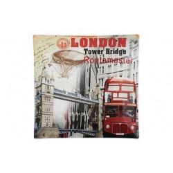 Блюдо квадратное 20см Viva London S3108-Q062