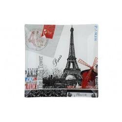 Блюдо квадратное 20см Viva Paris S3108-G043