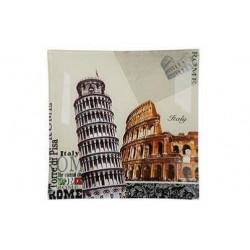Блюдо квадратное 20см Viva Rome S3108-G046