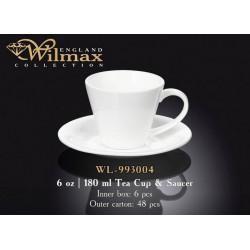Wilmax Чашка чайная&блюдце 180мл WL-993004