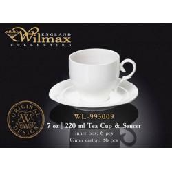 Wilmax Чашка чайная&блюдце 220мл WL-993009