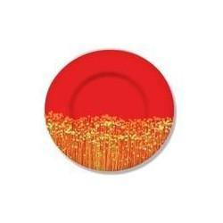 Тарелка глубокая 21см Luminarc Flowerfield Red H2484