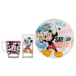 Набор 3пр Luminarc Disney Party Mickey L4866