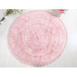 Коврик для ванной 100*100 Irya Genny розовый