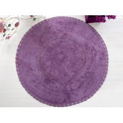Коврик для ванной 100*100 Irya Genny фиолетовый