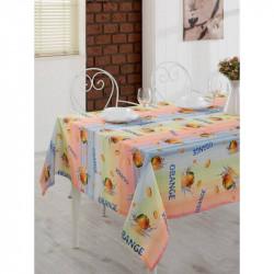 Скатерть Eponj Home - Romy turuncu 3D 155х180